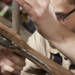 fabrication de crosse de fusil de chasse